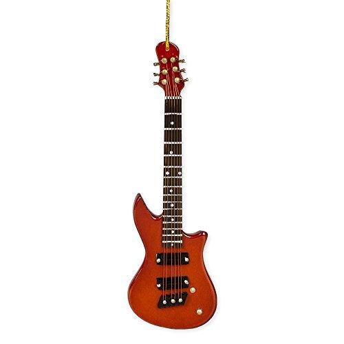 Electric Guitar Music Instrument Replica Christmas Ornament, 5 inch