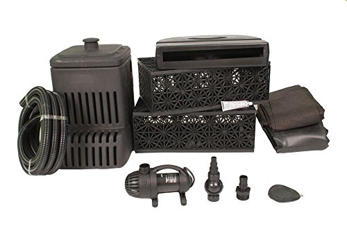 Aquascape Waterfall Kit - 3' - w/ FREE LED 3-Light Kit (3 Light Waterfall)
