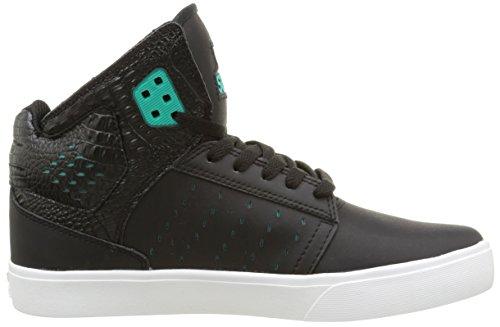 Supra ATOM  Unisex-Erwachsene Hohe Sneakers Schwarz (BLACK  / ATLANTIS - WHITE   BLK)
