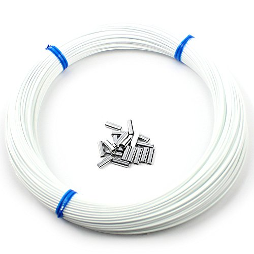 Momoi Outrigger Line Kit | 100 Yards | Includes Crimp Sleeves (White) - Outrigger Boat