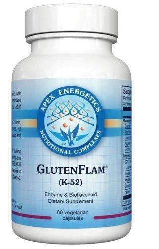 Apex Energetics – Gluten-Flam K-52 60 Capsules