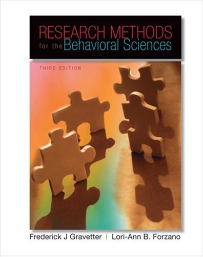 research methods for the behavioral sciences essay Research methods for the behavioral sciences (4th ed) belmont, ca wadsworth scientific research an research on the teaching methods of college english.