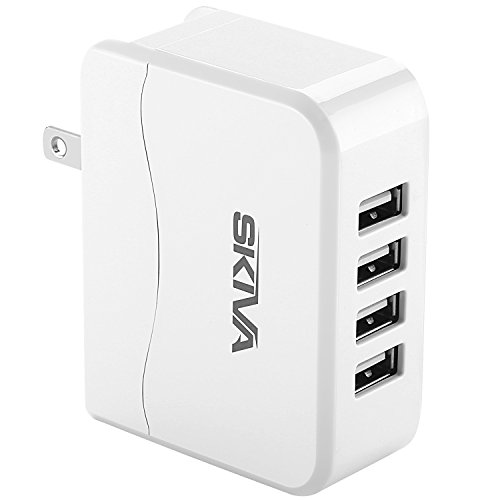 Skiva PowerFlow QuadFire  Rapid USB Wall/AC Charger for iPho