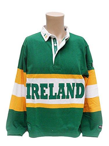 (Ireland Panel Rugby Shirt, Medium)