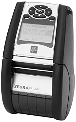 Zebra Technologies QN2-AU1A0M00-00 Label Printer, QLn220 Standard, GROUP 0, Cable Ready from Zebra Technologies
