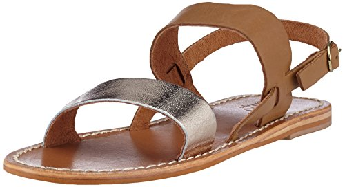 Inuovo 7218, Sandales Bride Cheville Femme Or (Gold-coconut 16781709)