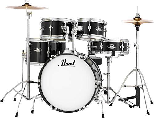 Pearl Roadshow Drum Set, Black, 16