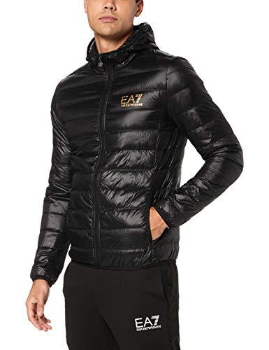 Emporio Armani EA7 EA7 Ultra-Light Down Hooded Jacket Black 8NPB02 PN29Z XX-Large Black