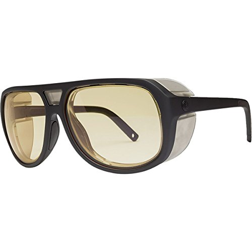 Electric Visual Stacker Matte Black/OHM+Clear Sunglasses by Electric