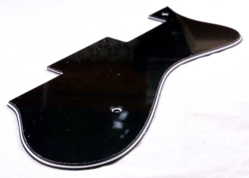 Amazon.com: 3 Ply Universal Pickguard Fits Epiphone Dot Style Guitar- BLACK (B53): Musical Instruments