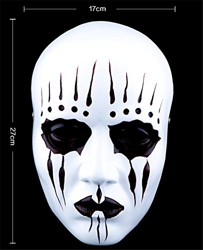 Gmasking Resin Slipknot Joey Cosplay Mask Replica+Gmask Helmet Keychain