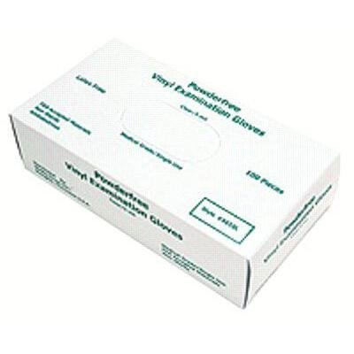 MCR Safety 5020L SensaGuard Vinyl Disposable Industrial Food Service Grade Powdered Gloves, Large, 1-Pair (Pack of 100)