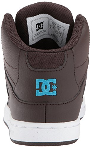 DC Shoes Youth Rebound Skate Shoe, Brown, 1.5 M US Little Kid by DC (Image #2)