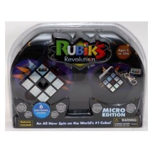 Rubik's Revolution Micro Edition with Electronic Keychain Game by Rubik (Rubiks Revolution Electronic)