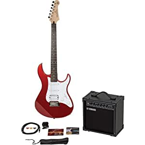 yamaha gigmaker electric guitar package metallic red musical instruments. Black Bedroom Furniture Sets. Home Design Ideas