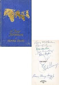 "Four Horsemen Autographed ""The Four Horsemen"" Book (JSA)"