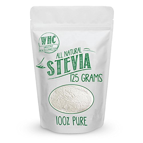 Wholesale Health Connection All Natural Stevia Powder, 125 Grams / 846 Servings