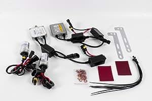 Seitronic® Kit xenón Can-Bus H4 Kit de retrofit Canbus Kit de conversión en 10000 K, para BMW VW, Audi, Mercedes, Ford, Opel, Seat, etc, E4 aprobación 12 V, 35 W