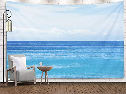 Shorping Tapestry for Men,Wall Tapestry, 80x60Inches Home Art of Cotton for Décor Living Room Dorm Sky and Sea