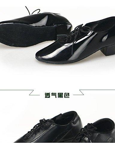 ShangYi Nicht Anpassbare - Niedriger Absatz - Kunstleder - Modern - Herren/Kinder Black