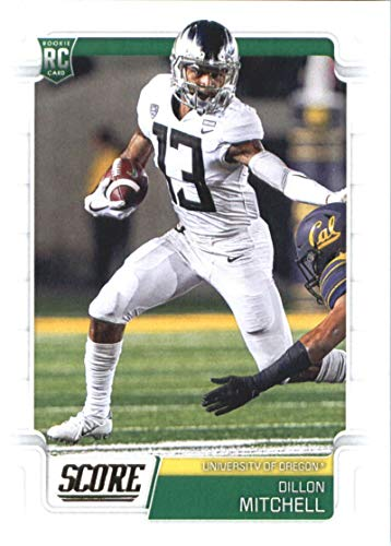 2019 Score #388 Dillon Mitchell RC Rookie Oregon Ducks NFL Football Trading Card