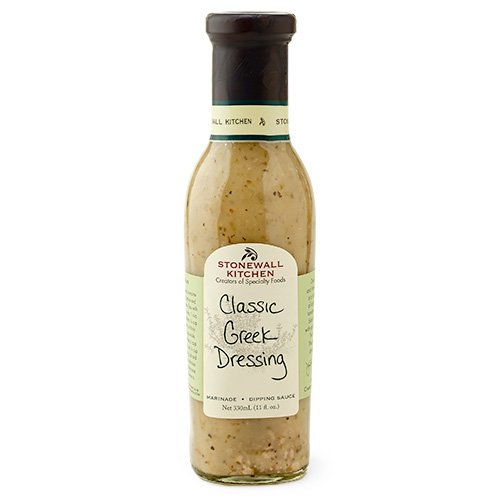 Stonewall Kitchen Dressing, Classic Greek, 11 Ounce