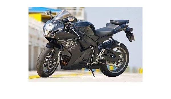 Amazon com: Gloss Matte Black Complete Fairing Injection for 2011