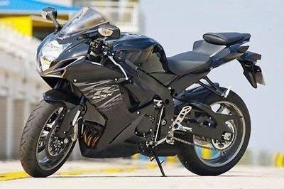 Amazon.com: Gloss Matte Black Complete Fairing Injection for 2011 ...