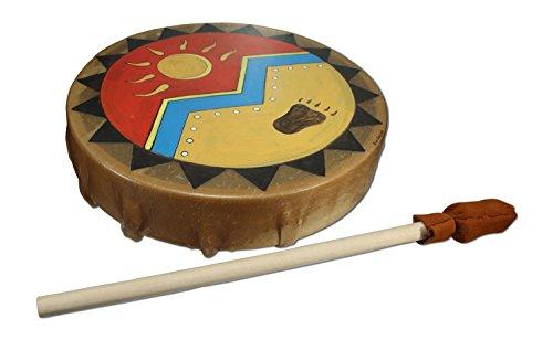 Strength & Light Buffalo Hide Hand Drum - 13 in
