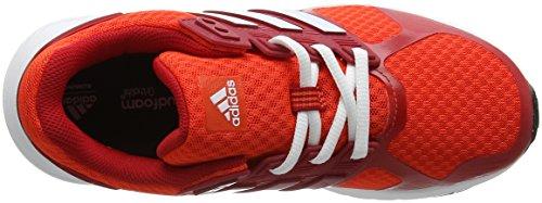 adidas Duramo 8, Chaussures de Running Compétition Femme Rouge (Energy/footwear White/scarlet)