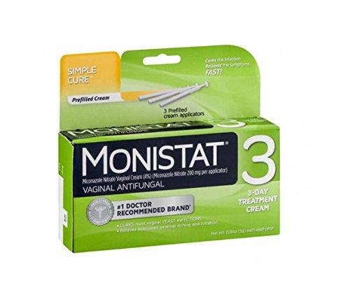 MONISTAT 3 CREAM PREFILLED 1EA J&J CONSUMER SECTOR