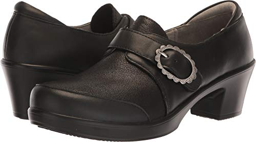 Alegria Women's Holli Clog Black Burnish Size 37 Regular EU