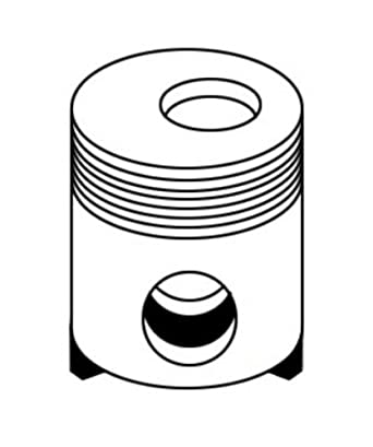 69491 Piston Made For Ford New Holland Gehl