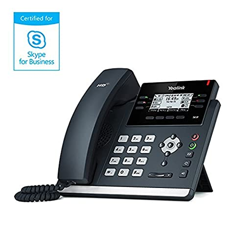 Skype For Business Ultra-elegant IP Phone 2.7in. 192x64-pixel Graphical SIP-T41P - Sip Business