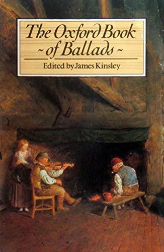 - The Oxford Book of Ballads (Oxford paperbacks)