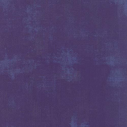 Moda Basic Grey Grunge Quilt FabricPurple Style 30150/295