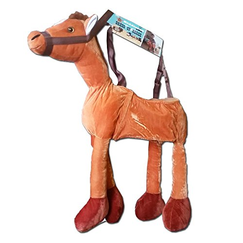 Childrens Wild West Dress Up Ride On Horse Costume 3-7 Years by BM