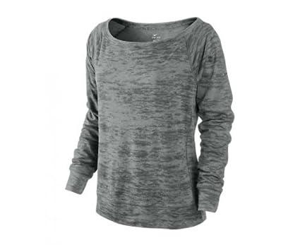 094714d5c Nike Epic Crew 2.0 Ladies Training Shirt, Grey, M at Amazon Women's ...