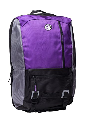 - Case-It The Classic Laptop Backpack, Fits 13 Inch and Some 15 Inch Laptops, Purple (BKP-303-PUR)