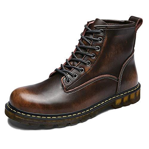 Doc Marten Boots Uomo Stivali per Adulti Stivali Classici Pelle Classica Primavera E Autunno Scarpe Alte in Pelle Stivaletti retr