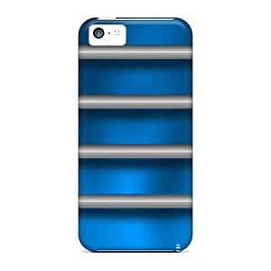 4s Scratch-proof Protection Cases Covers For Iphone/ Hot Burning Blue Phone Cases