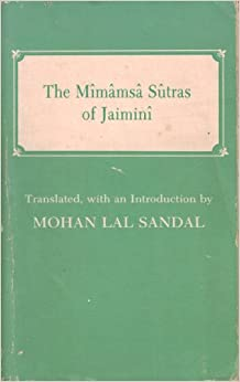 Introduction to the Mimamsa sutras of Jaimini