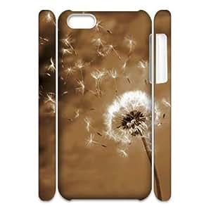 taoyix diy Dandelion 3D-Printed ZLB610473 Custom 3D Phone Case for Iphone 5C