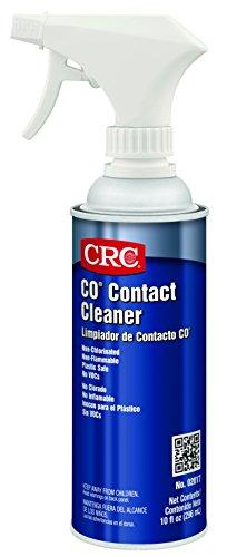 CRC CO Plastic Safe Liquid Contact Cleaner, 10 fl oz Non-Aerosol Spray Can ()