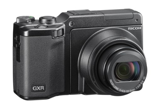 Ricoh GXR Interchangeable Unit Digital Camera System with 3-Inch High-Resolution LCD and P10 28-300mm f/3.5-5.6 VC Lens with 10MP CMOS Sensor