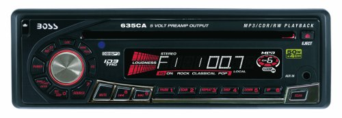 Boss 650CK MP3 Compatible CD Receiver/Speaker Combo System