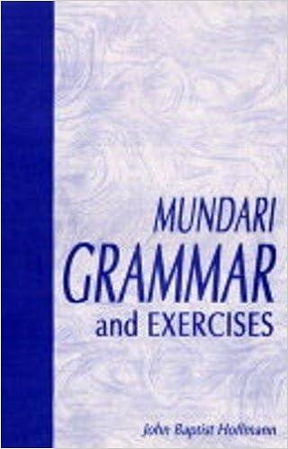Mundari Grammar and Exercises: Amazon in: John Baptist