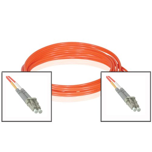 10FT (3M) LC to LC Duplex 62.5/125 Multimode Fiber Optic Patch Cable - Orange ()