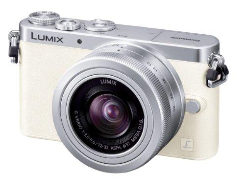 パナソニック ルミックスDMCGM1 ホワイト レンズキット ルミックスGバリオ 1232mm F3.55.6 ASPH.MEGA O.I.S.