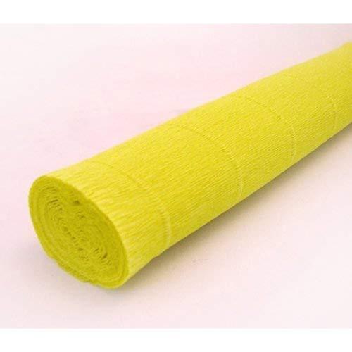 Blass-grün Krepppapier rolle 50cm x 2,5 m Italienisch papierbasteln
